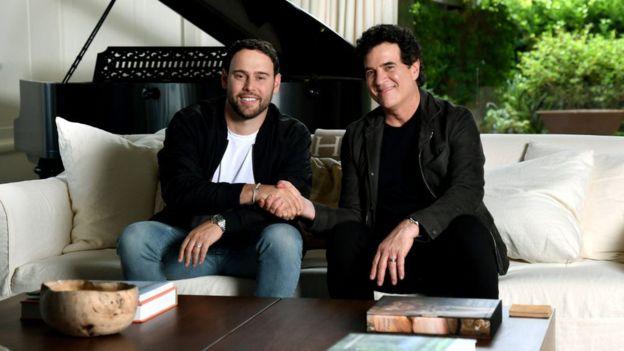 Scooter Braun y Scott Borchetta