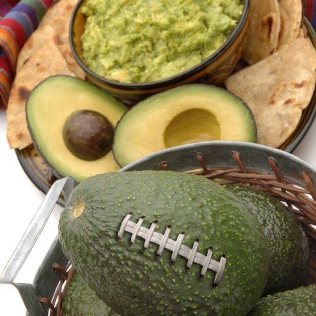 Aguacates y guacamole
