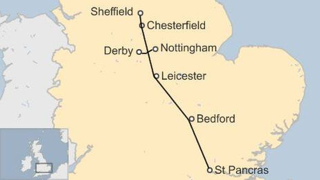 Electrification of Midland Mainline paused by Network Rail  BBC