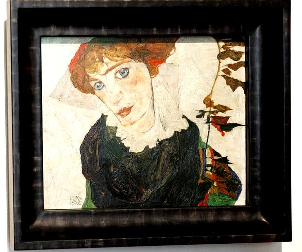 Retrato de Wally, de Egon Schiele