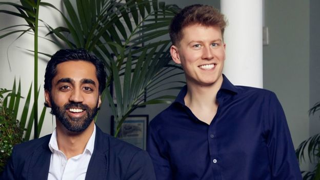 Shahzad Younas y Ryan Brodie
