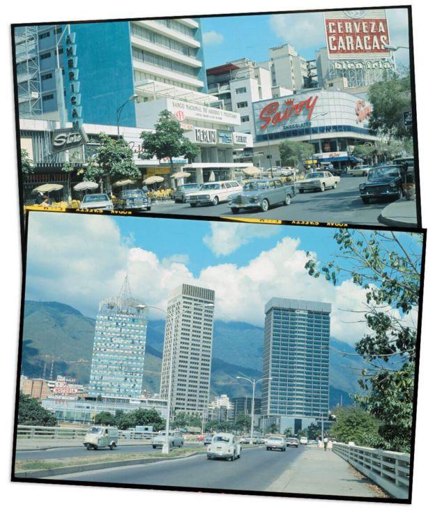 Caracas en los años 60