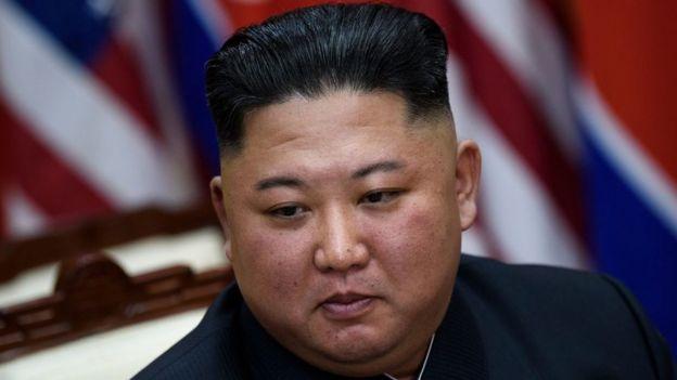 El l�der de Corea del Norte, Kim Jong Un.
