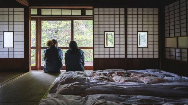 زوجان في اليابان