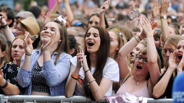Fans at Biggest Weekend