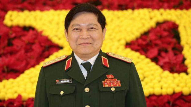 Bộ trưởng quốc phòng Việt Nam Ngô Xuân Lịch