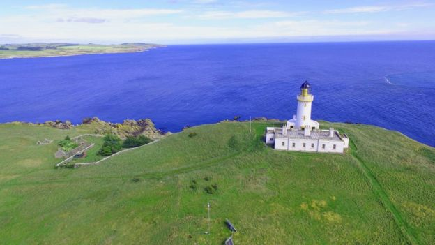 Little Ross Lighthouse Island Up For Sale Bbc News