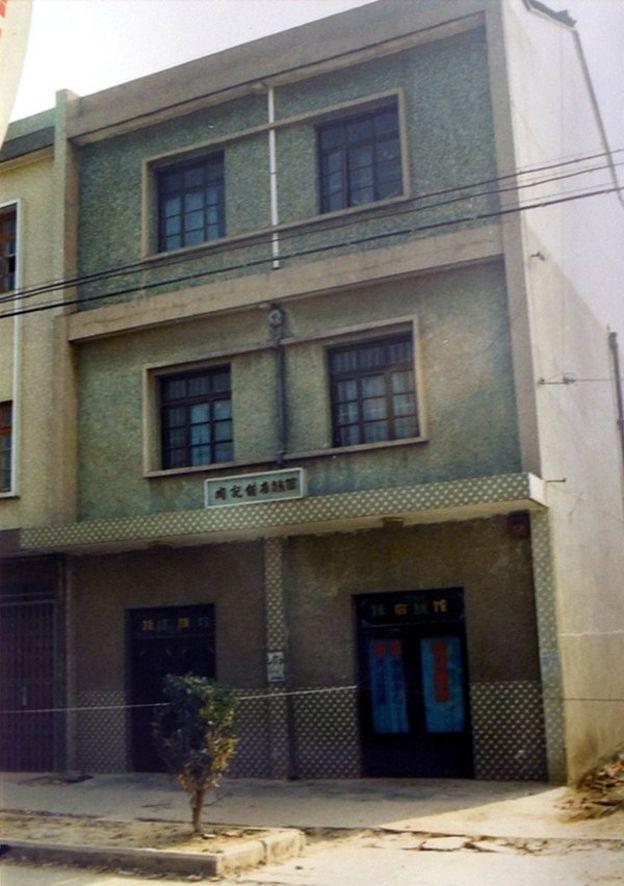 El edificio en el que tuvo lugar el crimen hace 22 años en Huzhou (China)