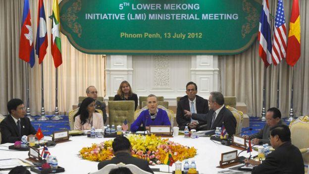 Phnom Penh ngày 13/7/2012: Asean kết thúc cuộc họp ở Campuchia, không ra tuyên bố chung lần đầu tiên trong lịch sử Asean