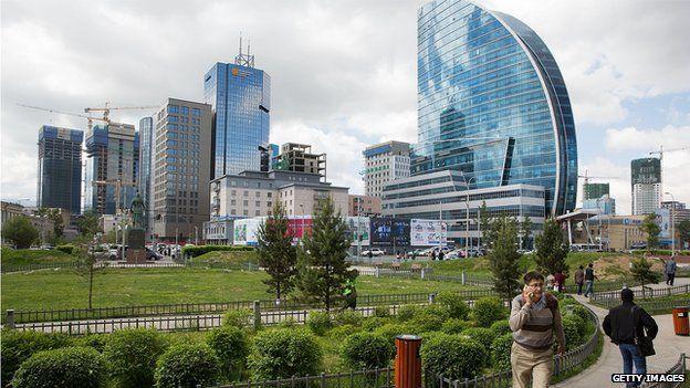 Mongolian capital Ulaanbaatar