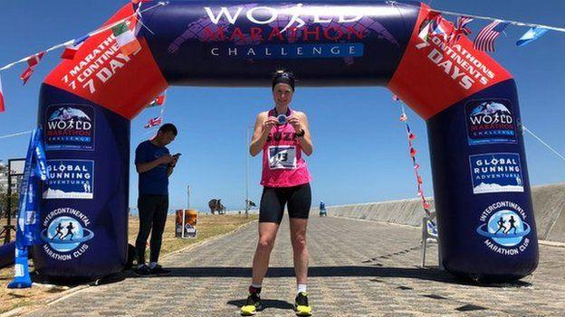 Susannah Gill en Ciudad del Cabo