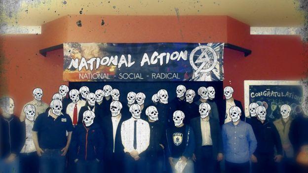 Anúncio do Ação Nacional sobre uma de suas conferências