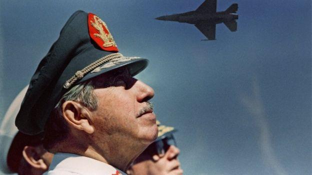 Augusto Pinochet en 1988