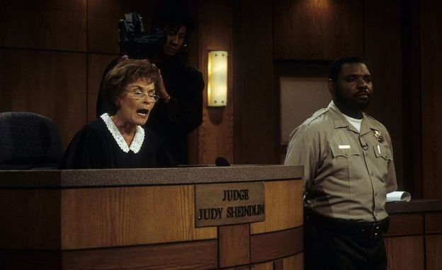 Jueza Judy en su programa Judge Judy