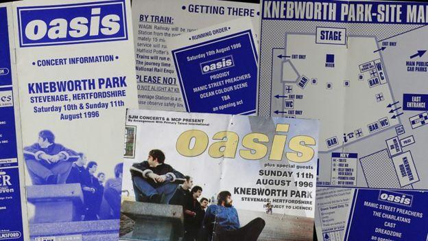 Oasis memorabilia