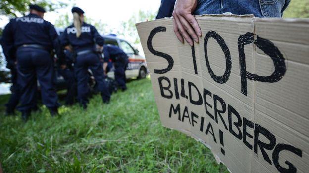 Protesta contra el foro Bilderberg