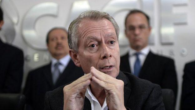 Jorge Briz, presidente de la Cámara de Comercio de Guatemala y ex ministro de Relaciones Exteriores de ese país.