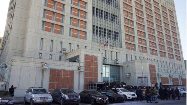 Outside of the Metropolitan Detention Center, 2 February