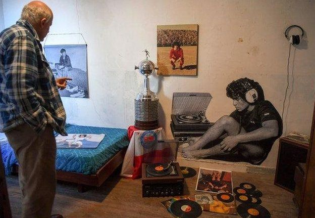 """Museo la """"Casa de Dios""""."""
