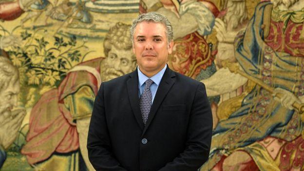 Iván Duque, presidente electo de Colombia.