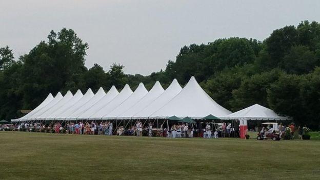 A Loane Bros tent