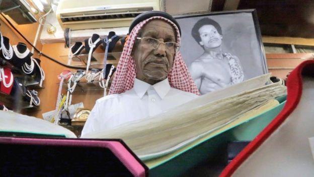 Saad Al-Jassim, former pearl diver