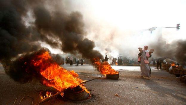 protestas Sudán