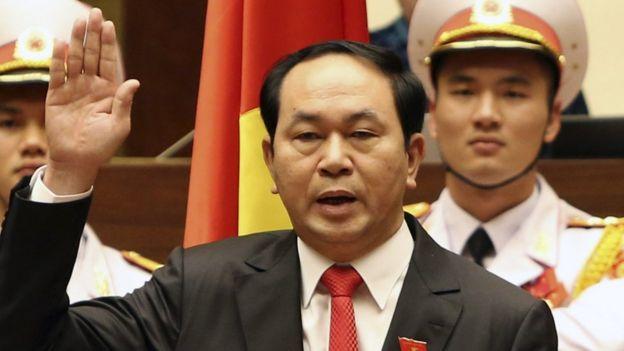 Vietnamese President Tran Dai Quang