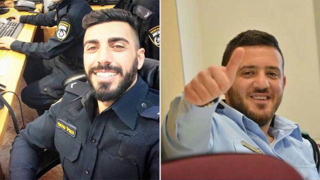 Sgt Maj Hail Sattawi (left) and Sgt Maj Kamil Shanan