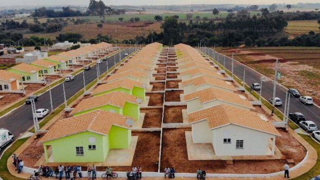 Conjunto Habitacional no Estado de SP