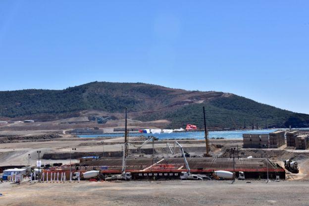 Akkuyu será la primera central nuclear de Turquía.