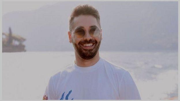 Gionata Russo organiza matrimonios en el Lago de Como, al norte de Italia. Hasta el momento, le han cancelado todos los eventos.