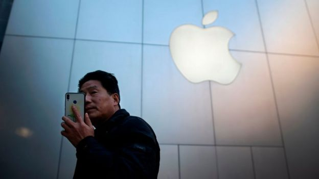 Cliente de Apple en China