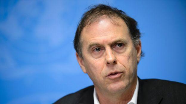 Ông Rupert Colville, phát ngôn viên Cơ quan nhân quyền của LHQ