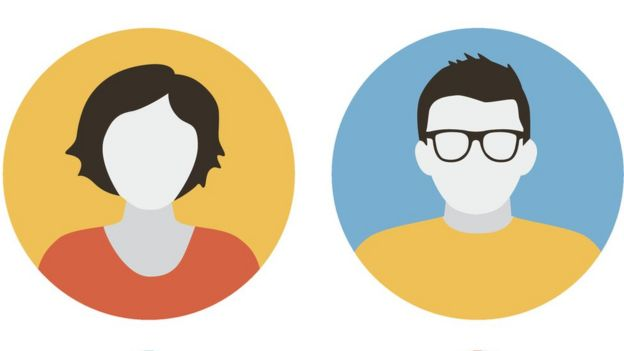 Two illustrations with profile photos