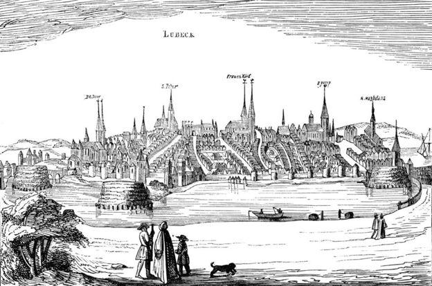 Lübeck en el siglo XVI.