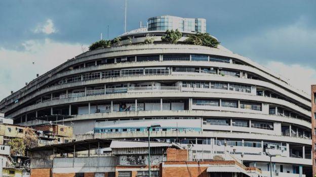 """En """"el Helicoide"""", la emblemática sede del Sebin están detenidos varios importantes dirigentes de la oposición venezolana."""