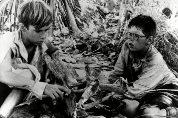 Still from the 1963 film Lord of the Flies