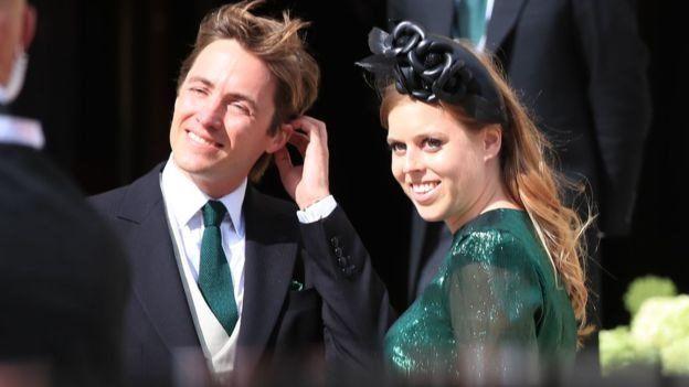 Putri Beatrice dan tunangannnya Edoardo Mapelli Mozzi