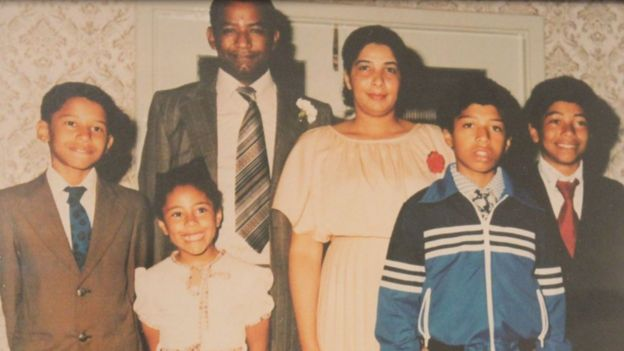 Luther married a Jamaican lady he met in Port Talbot. They went on to have four children