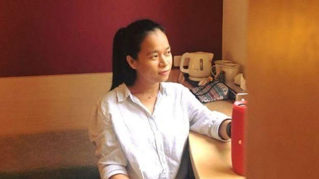 Cô Nguyễn Vi Yên, một trong các thành viên của nhóm Save NET