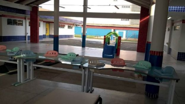Creche concluída em Paranaguá (PR)