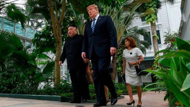 Kim và Trump