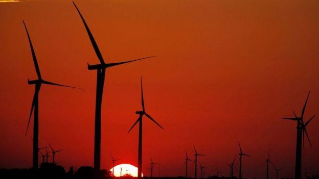 Usina de energia eólica