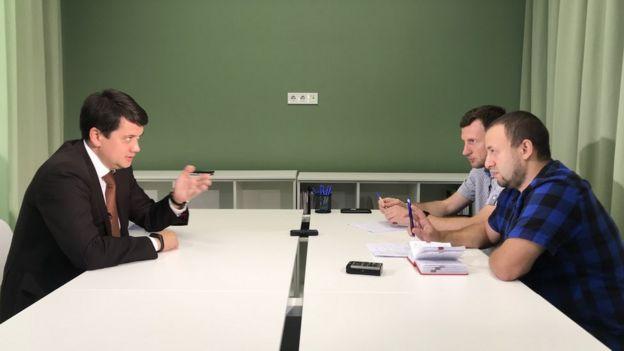 Разумков і журналісти Хоменко та Шрамович