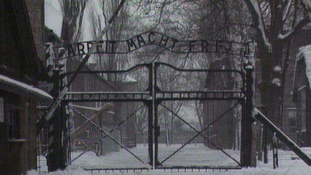 Entrada de Auschwitz