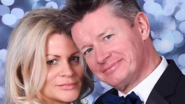 ريتشارد ماسون وزوجته