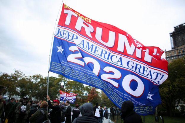 Campaña de Trump.