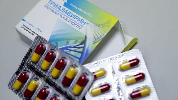 Antiviral triazavirin