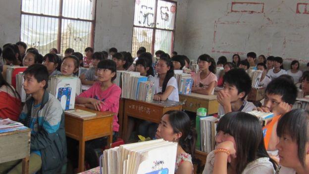 Aula na China